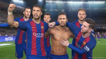 PES 2017: Barcellona e Atletico Madrid si sfidano in questo nuovo video gameplay