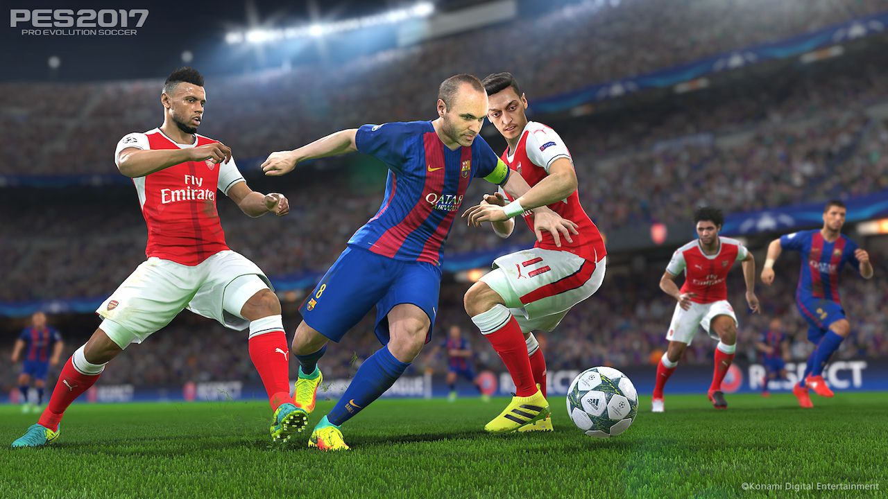 PES 2017: disponibile la demo per PC