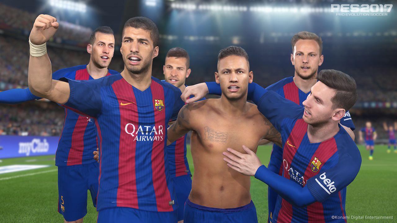 PES 2017 sarà ottimizzato per PlayStation 4 Pro