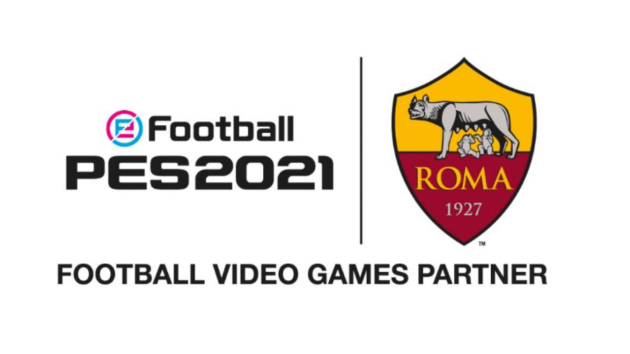 PES 2021 x AS Roma: accordo esclusivo tra la squadra e Konami