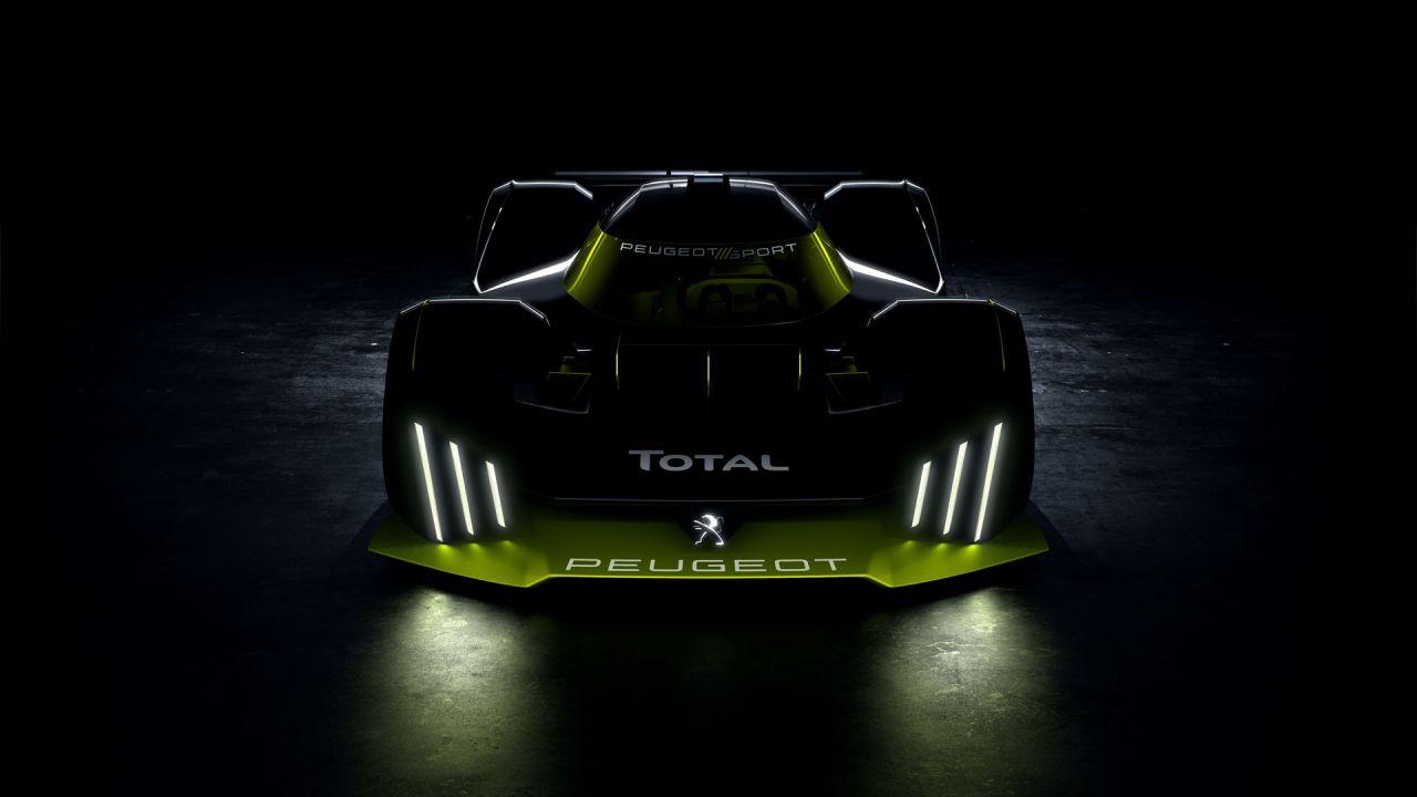 Peugeot sarà al via a Le Mans nel 2022, presentata la sua hypercar ibrida