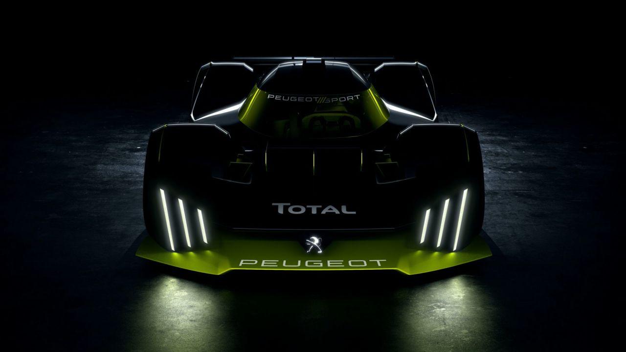 Peugeot torna a Le Mans con un V6 ibrido da 952 cavalli