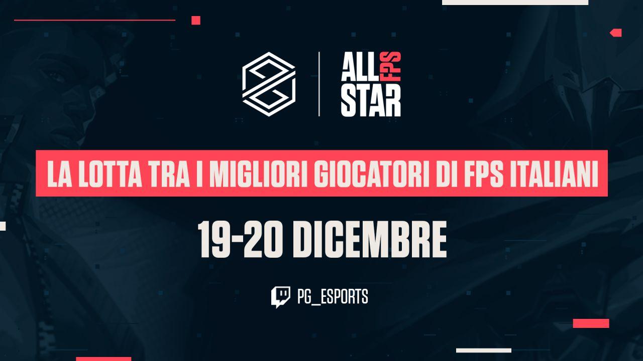 PG Esports e Riot Games chiudono l'anno in bellezza con il VALORANT FPS All Stars