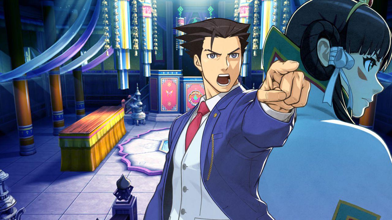 Phoenix Wright e Apollo Justice insieme in Ace Attorney 6