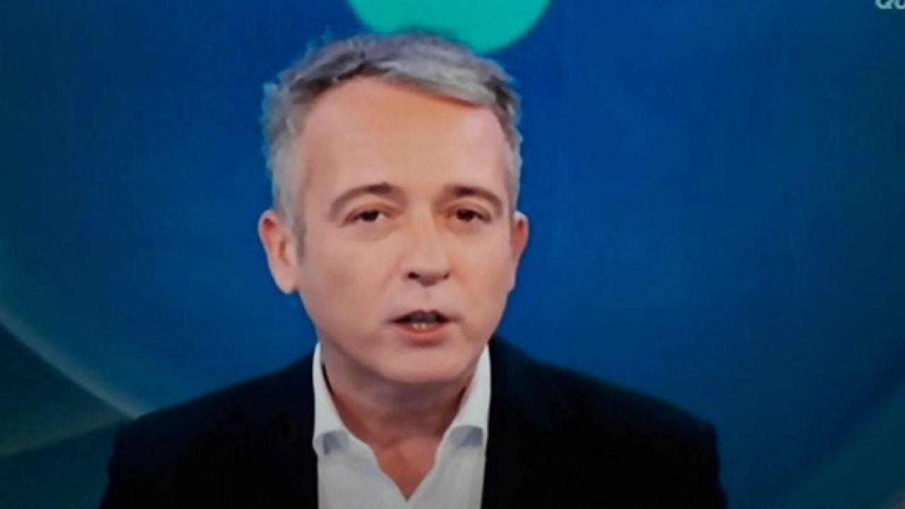 Pierluigi Diaco scivola sul congiuntivo: massacrato da un ex dirigente Rai