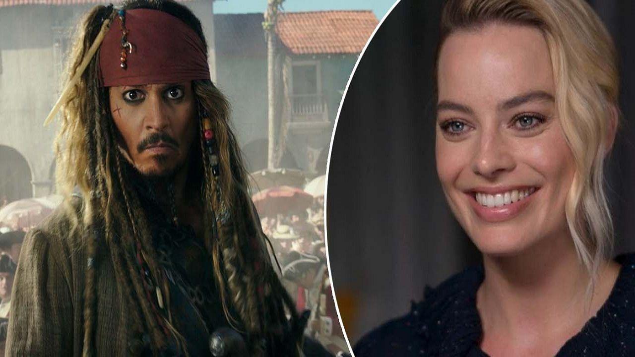Pirati dei Caraibi, i fan di Johnny Depp vogliono Jack Sparrow al fianco di Margot Robbie