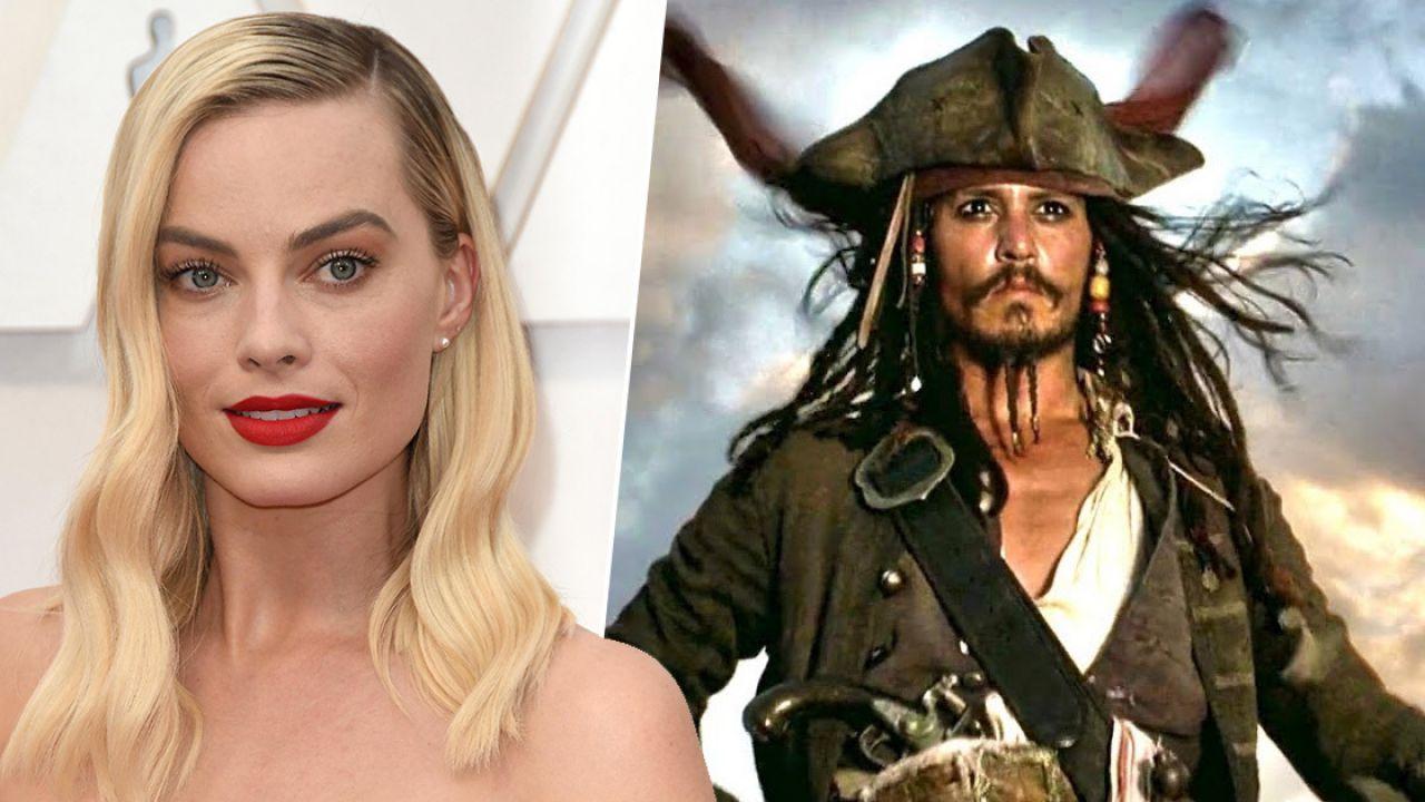 Pirati dei Caraibi, Margot Robbie conferma il film e promette un 'tocco di femminilità'