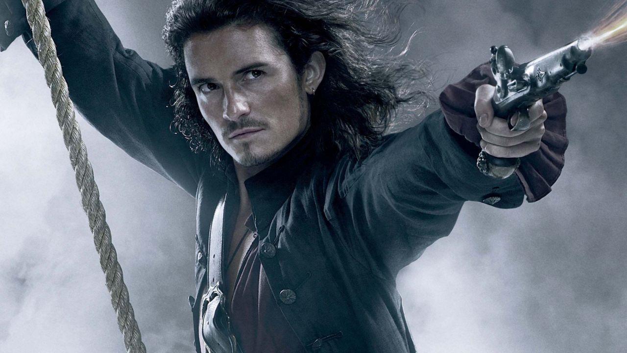 Pirati dei Caraibi, Orlando Bloom deluso dal videogioco: 'Non ero abbastanza muscoloso'