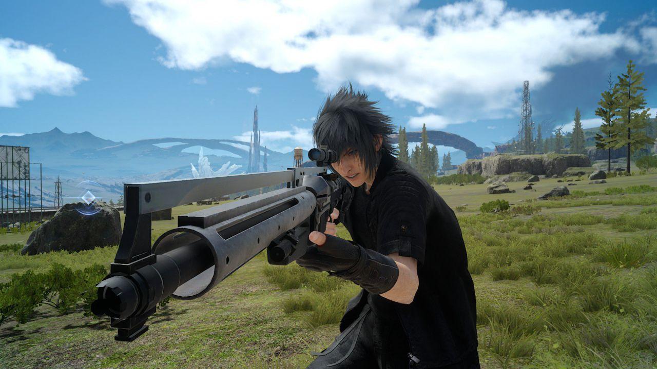 Pistole e fucili di precisione nei nuovi screenshot di Final Fantasy XV