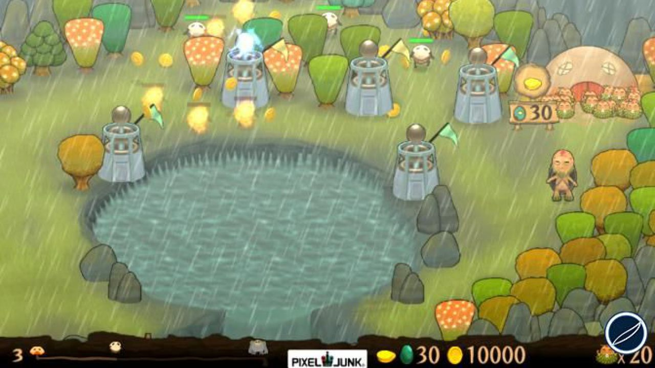 Pixel Junk Monsters Ultimate HD: data di uscita e prezzo per la versione PS Vita