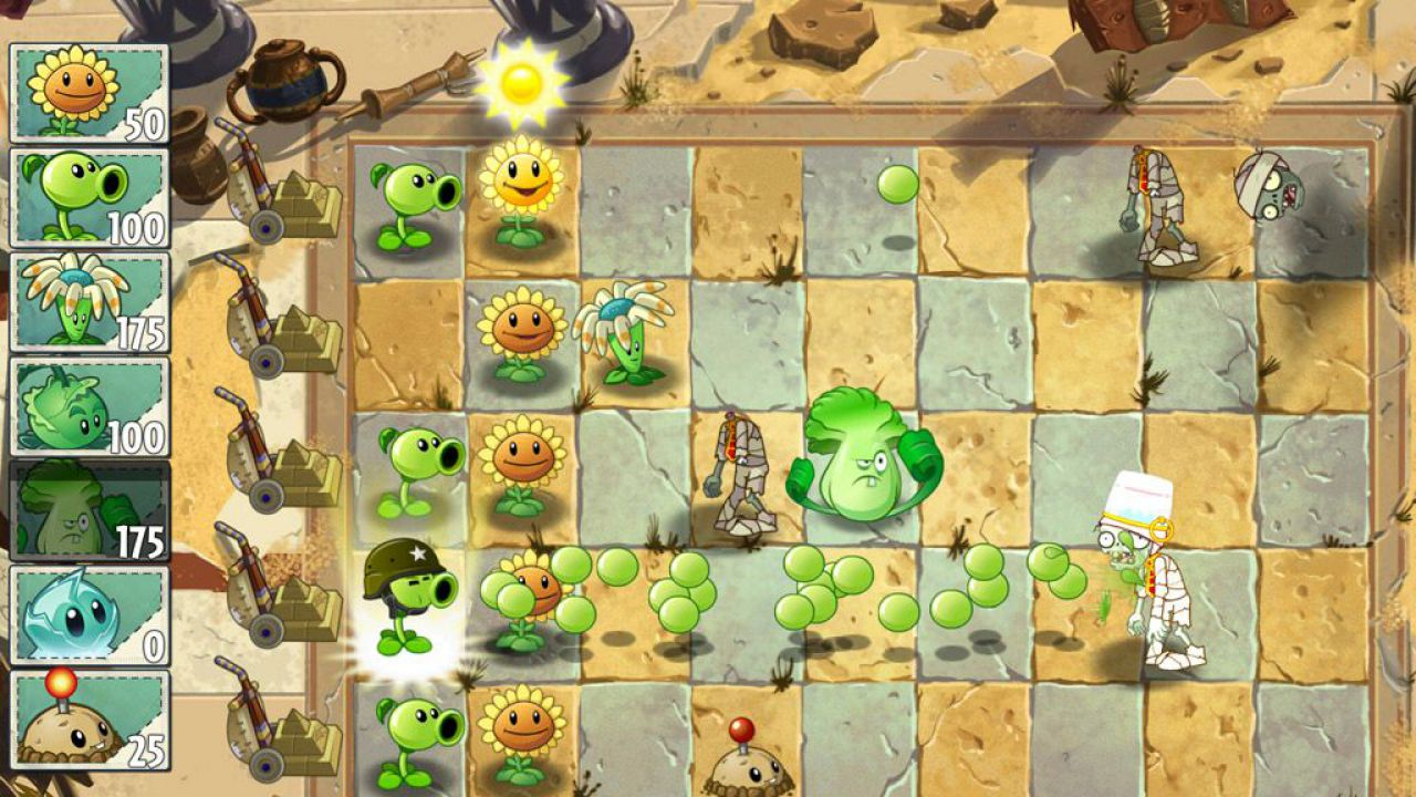 Plants Vs Zombies 2 si aggiorna su iOS e Android