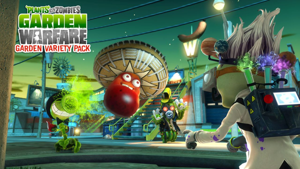Plants vs Zombies Garden Warfare: Craaaazy Sticker Pack in regalo per tutti i giocatori