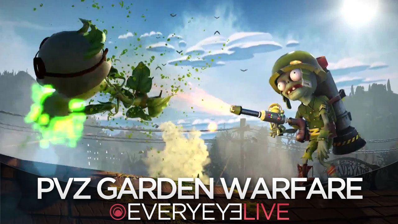 Plants vs Zombies Garden Warfare disponibile su EA Access