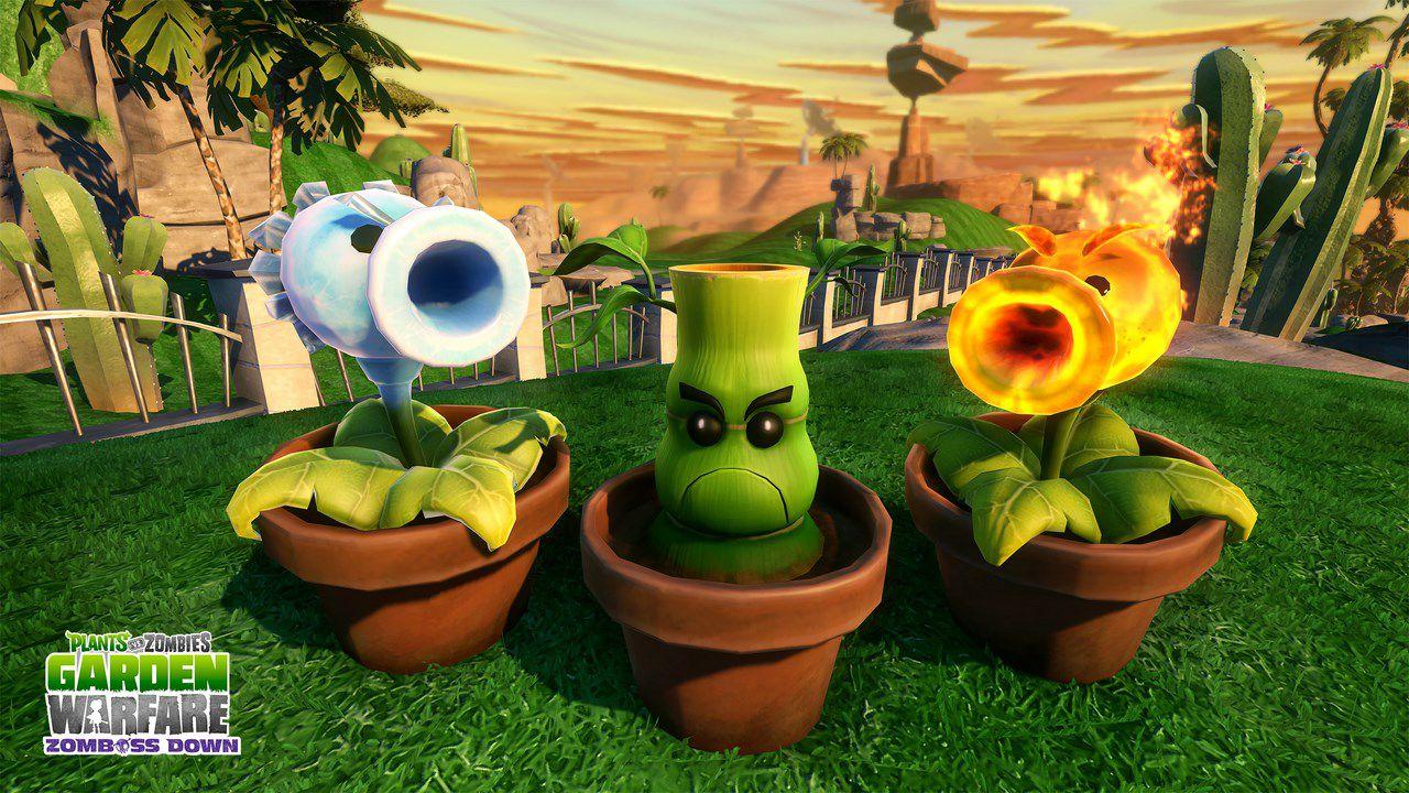 Plants vs Zombies Garden Warfare: disponibile l'aggiornamento Suburbination