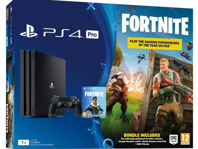 PlayStation 4 500GB + Fortnite + PS Plus 3 mesi in offerta speciale a meno di 280 euro