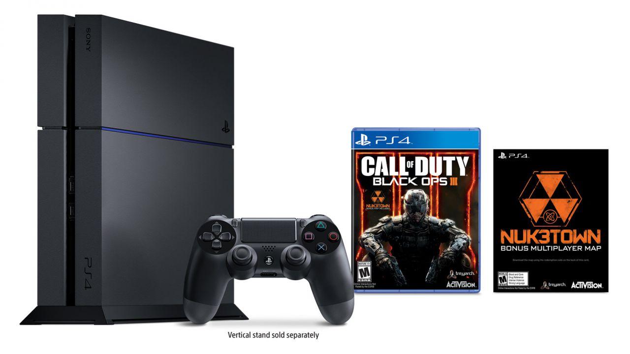 PlayStation 4: annunciato un nuovo bundle dedicato a Call of Duty Black Ops 3
