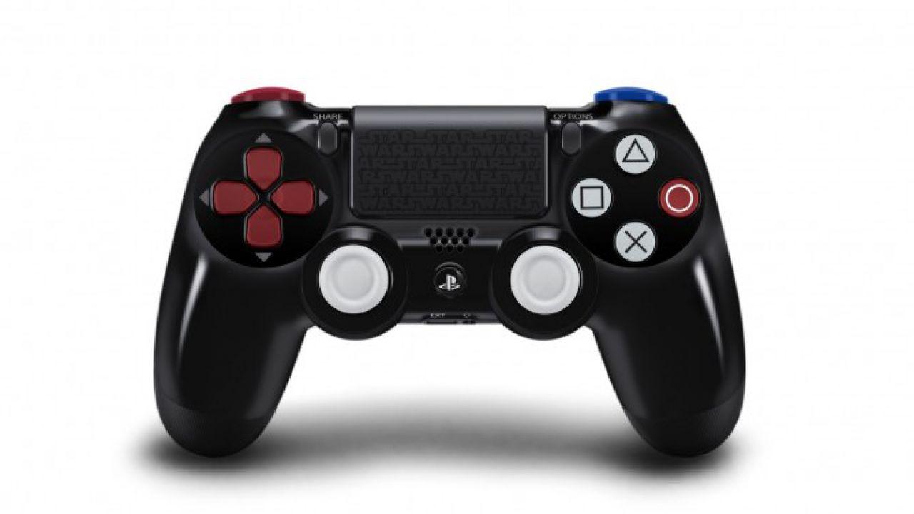PlayStation 4: il controller dell'edizione Darth Vader non verrà venduto separatamente