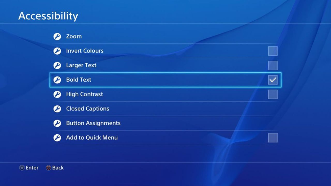 PlayStation 4: l'immagine di sfondo è ora protetta da copyright