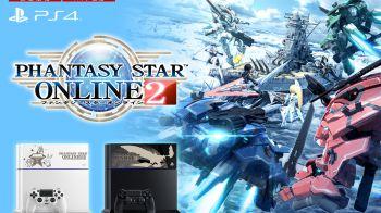 PlayStation 4 personalizzata per Phantasy Star Online 2