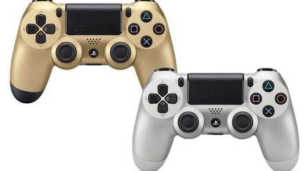 PlayStation 4: In arrivo a metà novembre i DualShock 4 oro ed argento