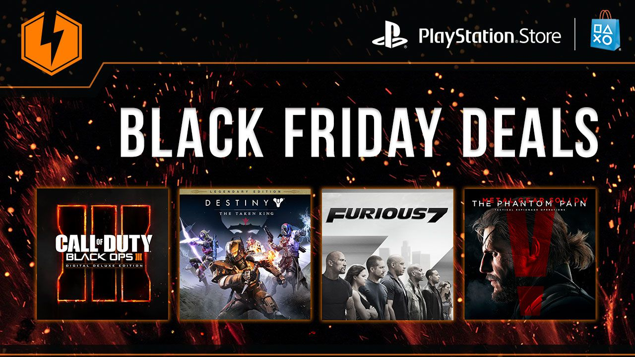 PlayStation Store: al via le offerte per il Black Friday