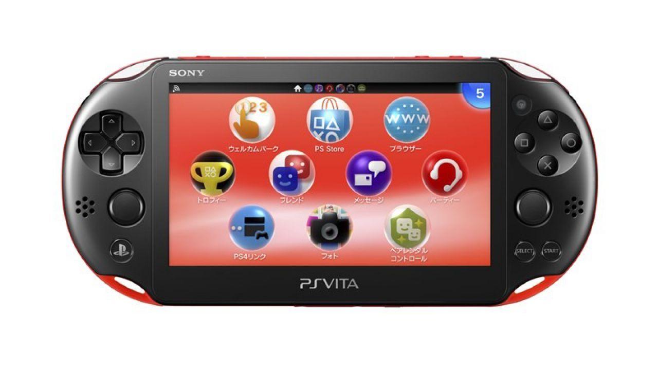 PlayStation Vita 2000 disponibile dal 7 febbraio nel Regno Unito