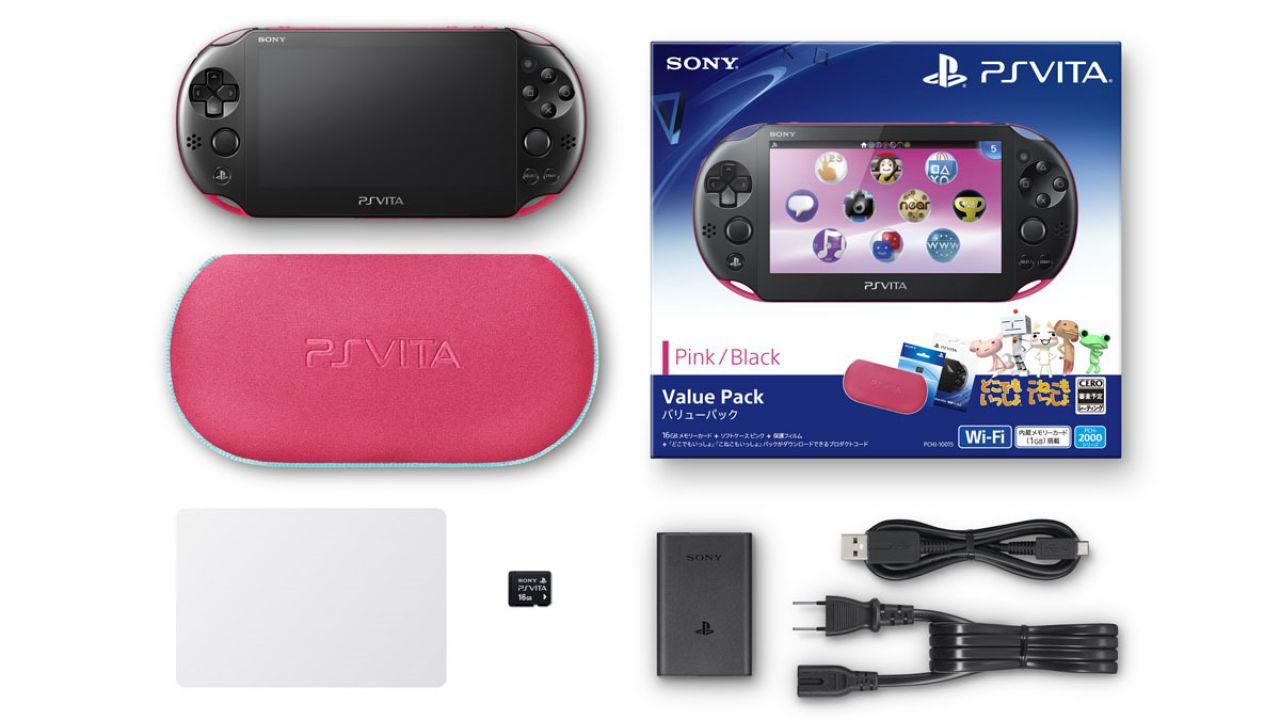 PlayStation Vita: il modello PCH-2000 è disponibile in Italia