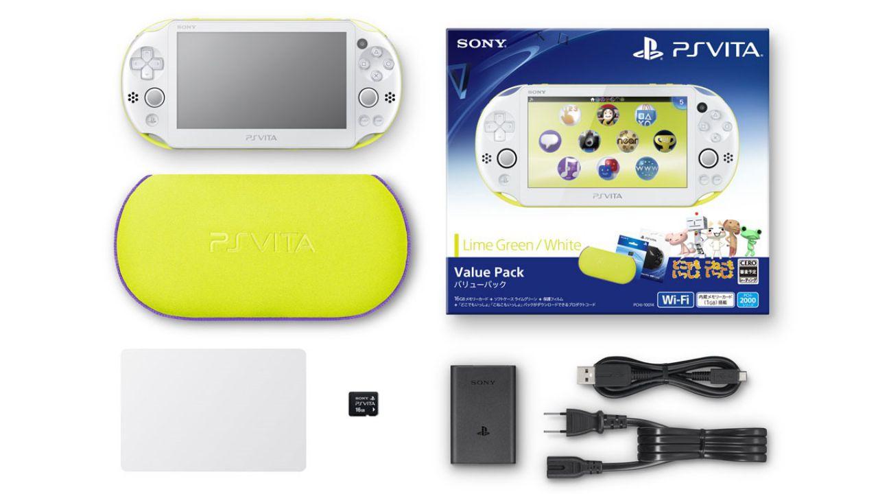 PlayStation Vita, il nuovo modello arriva in Italia