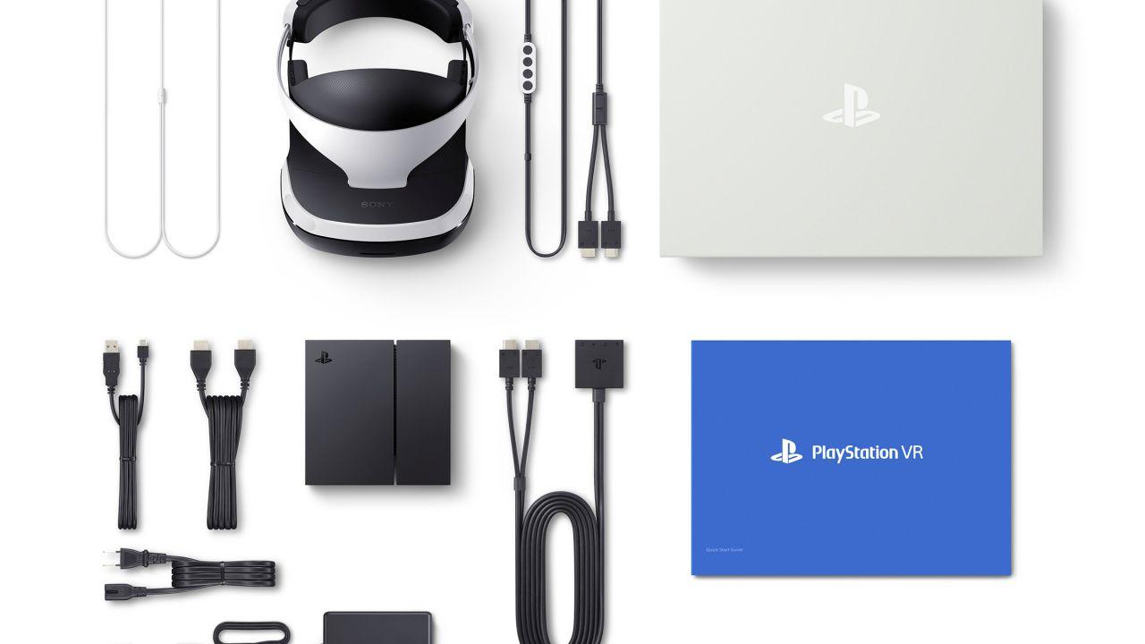 PlayStation VR: la confezione non includerà PlayStation Camera e il controller Move