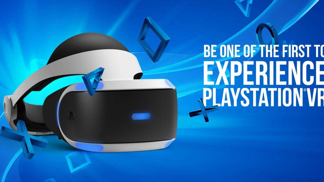 PlayStation VR debutterà in Europa in contemporanea col lancio americano