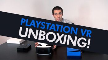 PlayStation VR: video unboxing del visore per PlayStation 4