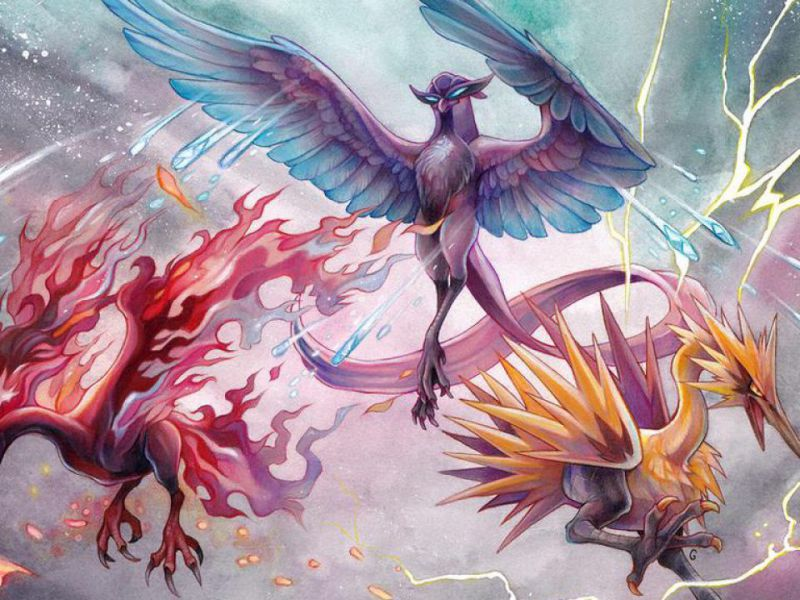 Pokémon, waiting for Arceus Legends: Articuno, Moltres and Zapdos now really exist!