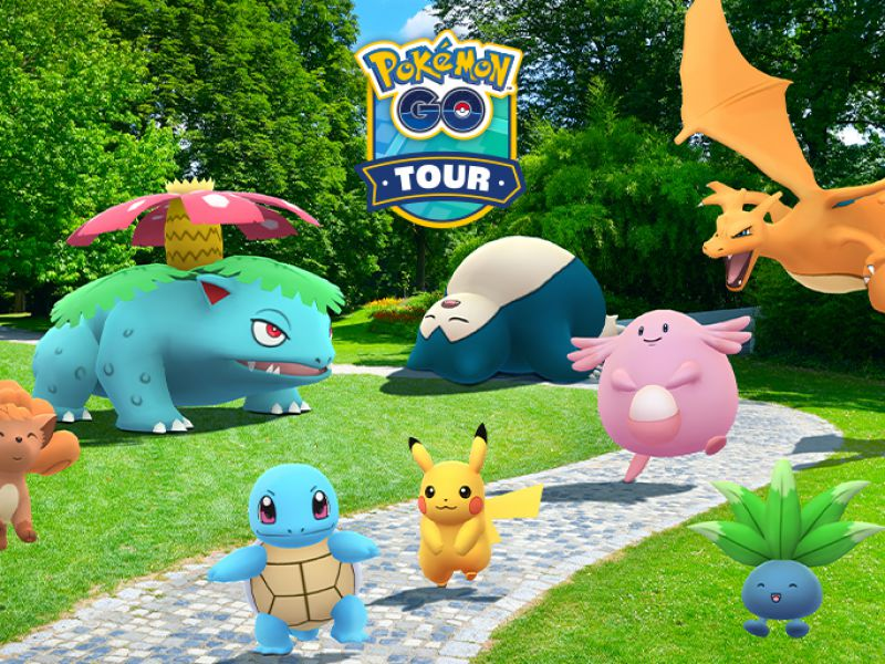 Pokémon GO, the Kanto Tour has begun! All free and paid content