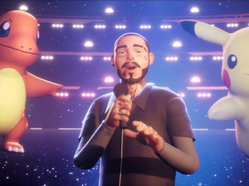 Pokémon and Post Malone: watch the virtual concert for the 25th anniversary!