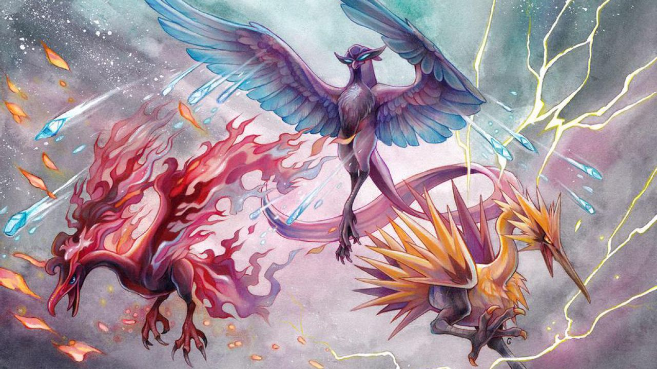Pokémon, aspettando Leggende Arceus: Articuno, Moltres e Zapdos ora esistono davvero!