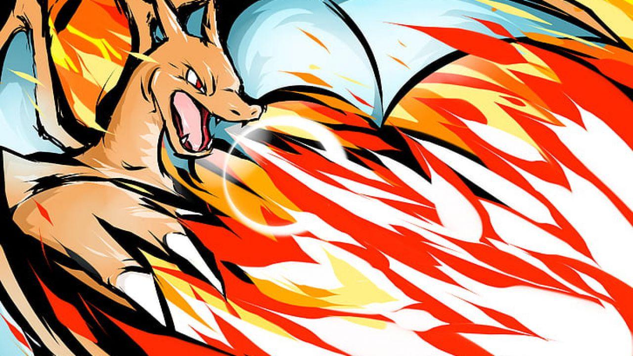 Pokémon: Charizard diventa più minaccioso in una stupenda fanart