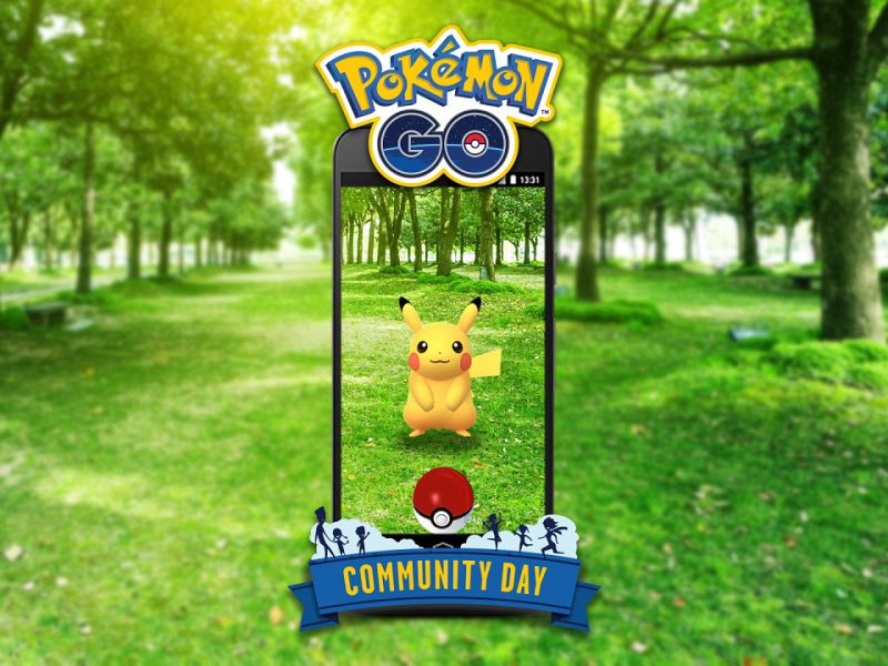 Pokemon GO: annunciato il Community Day, nuovo evento a cadenza mensile