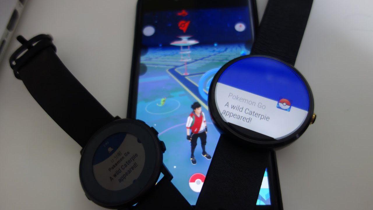 Pokemon GO arriverà su smartwatch Android Wear?