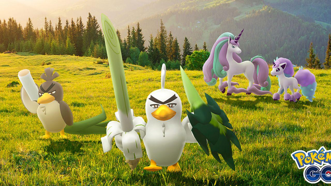 Pokémon GO: creature di Galar per celebrare il lancio di Terre Innevate della Corona