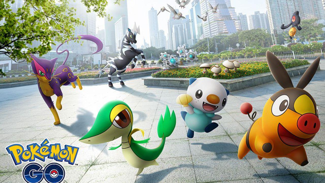 Pokémon GO, al via l'evento di celebrazione di Unima: Pokémon come se piovesse!
