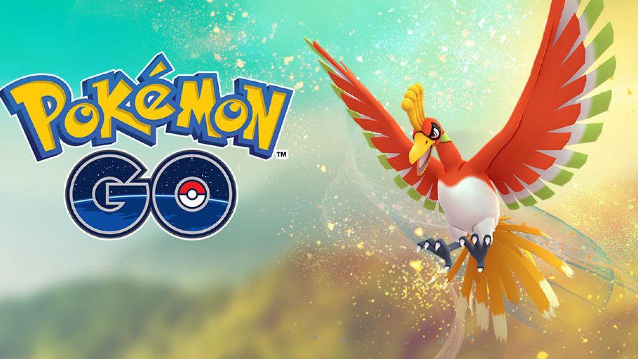 Pokémon GO: il leggendario Ho-Oh torna nelle lotte raid per un periodo limitato