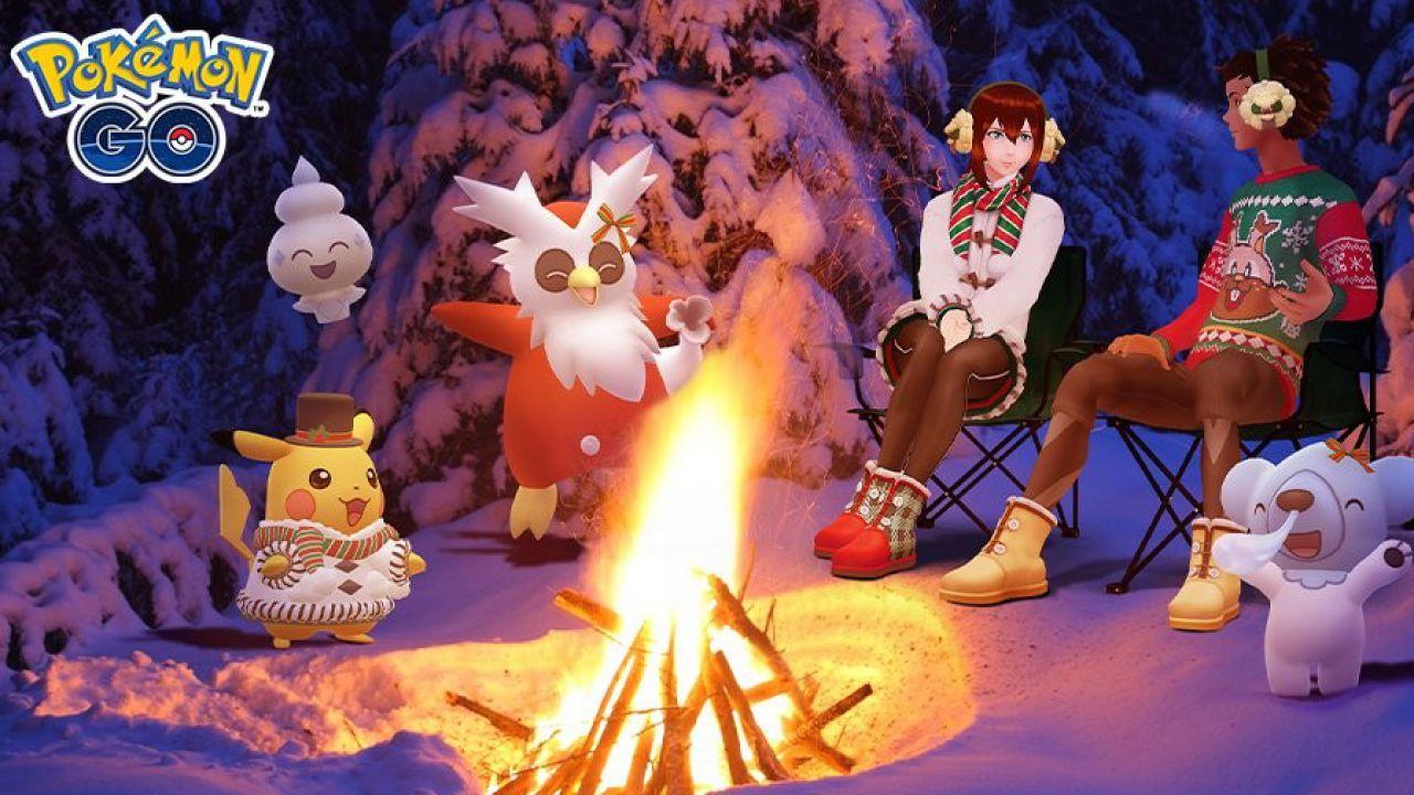 Pokémon GO, al via un nuovo evento speciale invernale: orari e bonus
