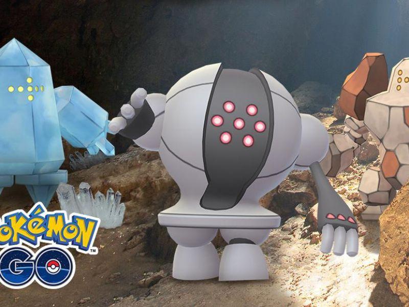 Pokemon GO, nuovo evento speciale: tornano Registeel, Regice, Regirock e molto altro!