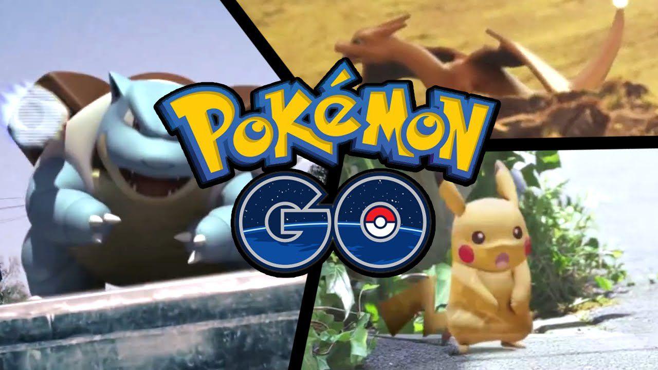 Pokémon Go si mostra in un nuovo video di gameplay