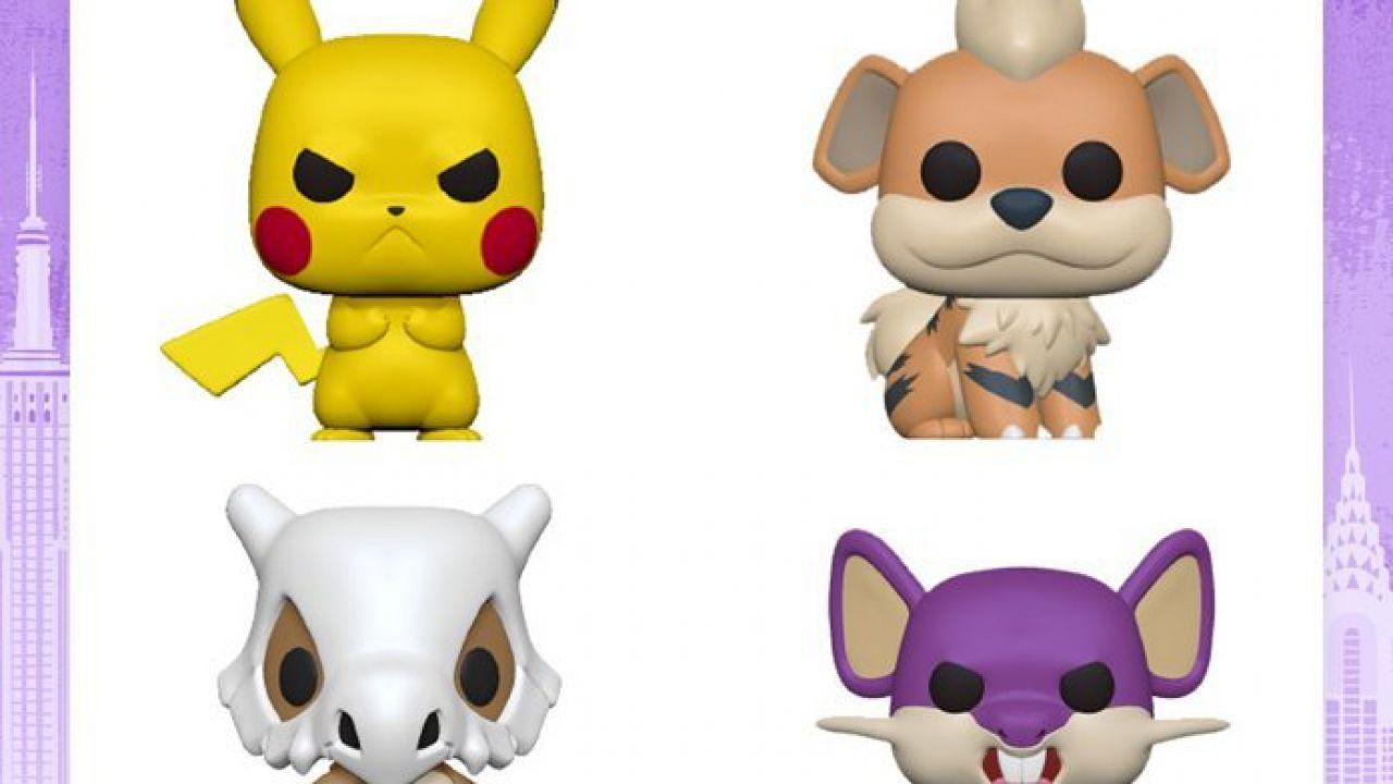 Pokémon: i mostriciattoli di prima generazione ricevono una serie di Funko Pop