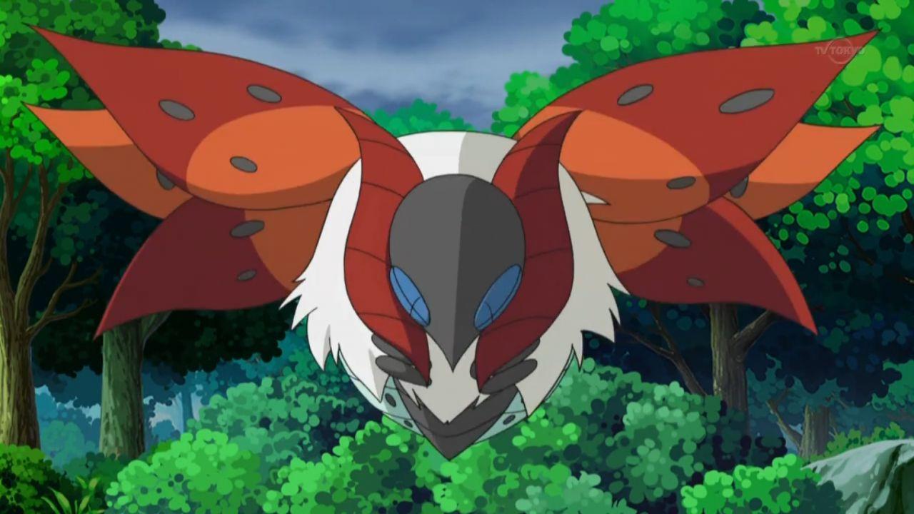 Pokémon: le origini di Volcarona, la strana creatura ispirata ai film di Godzilla