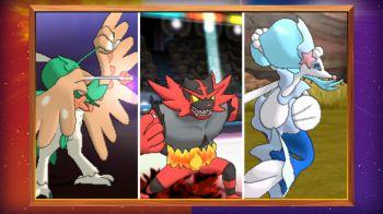 Pokémon Sole e Luna: scopriamo le evoluzioni finali dei nuovi starter