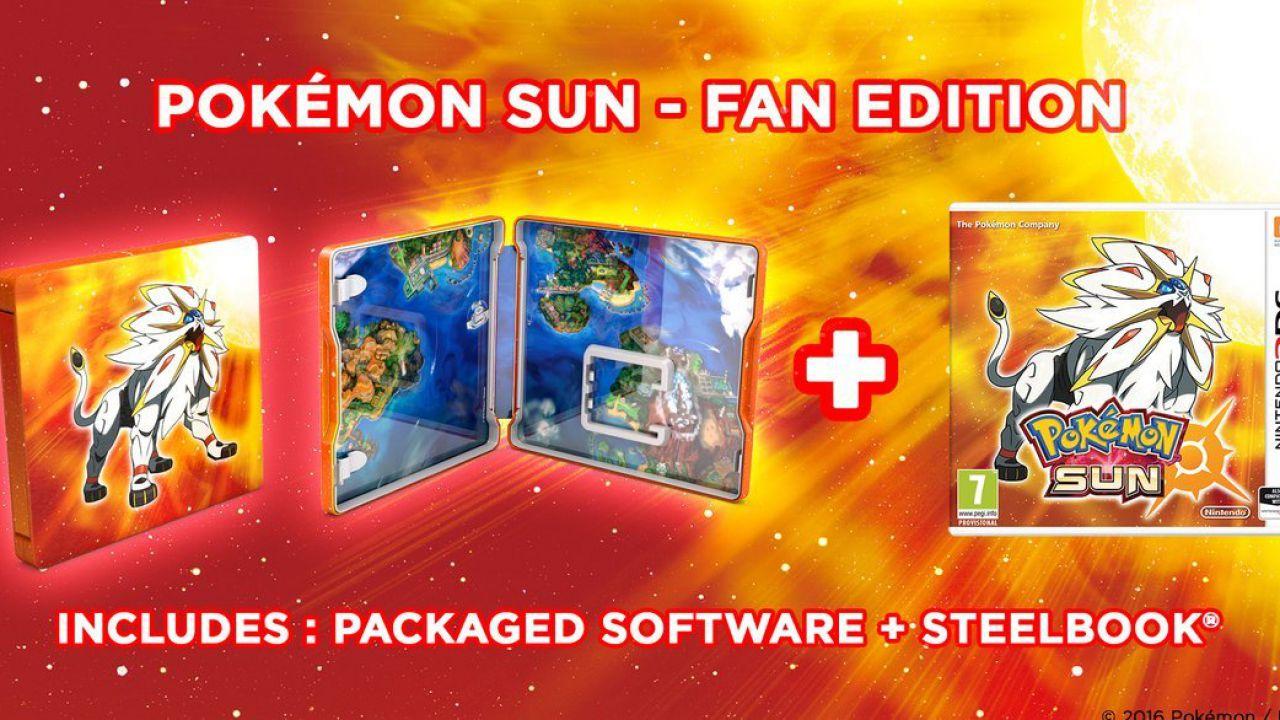 Pokemon Sole e Luna: svelate le Fan Edition