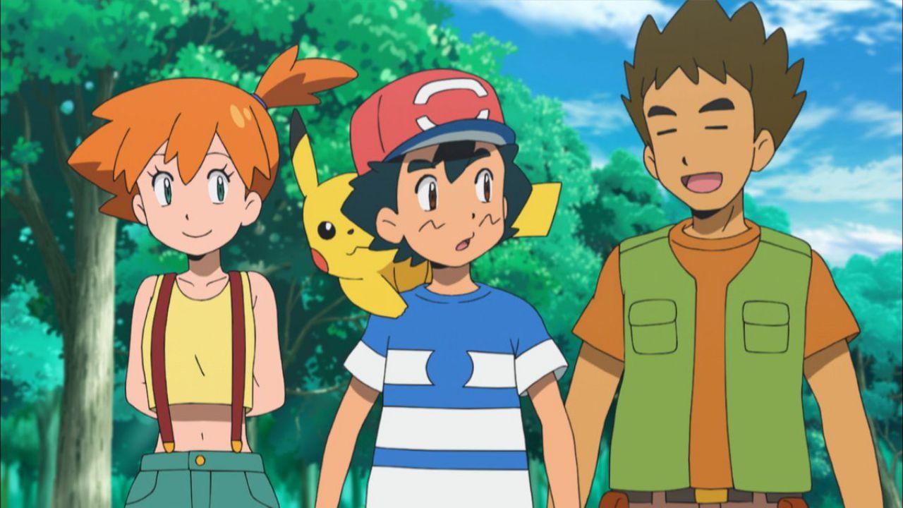 Pokémon Sun and Moon: novità per Brock e Misty nell'episodio 103