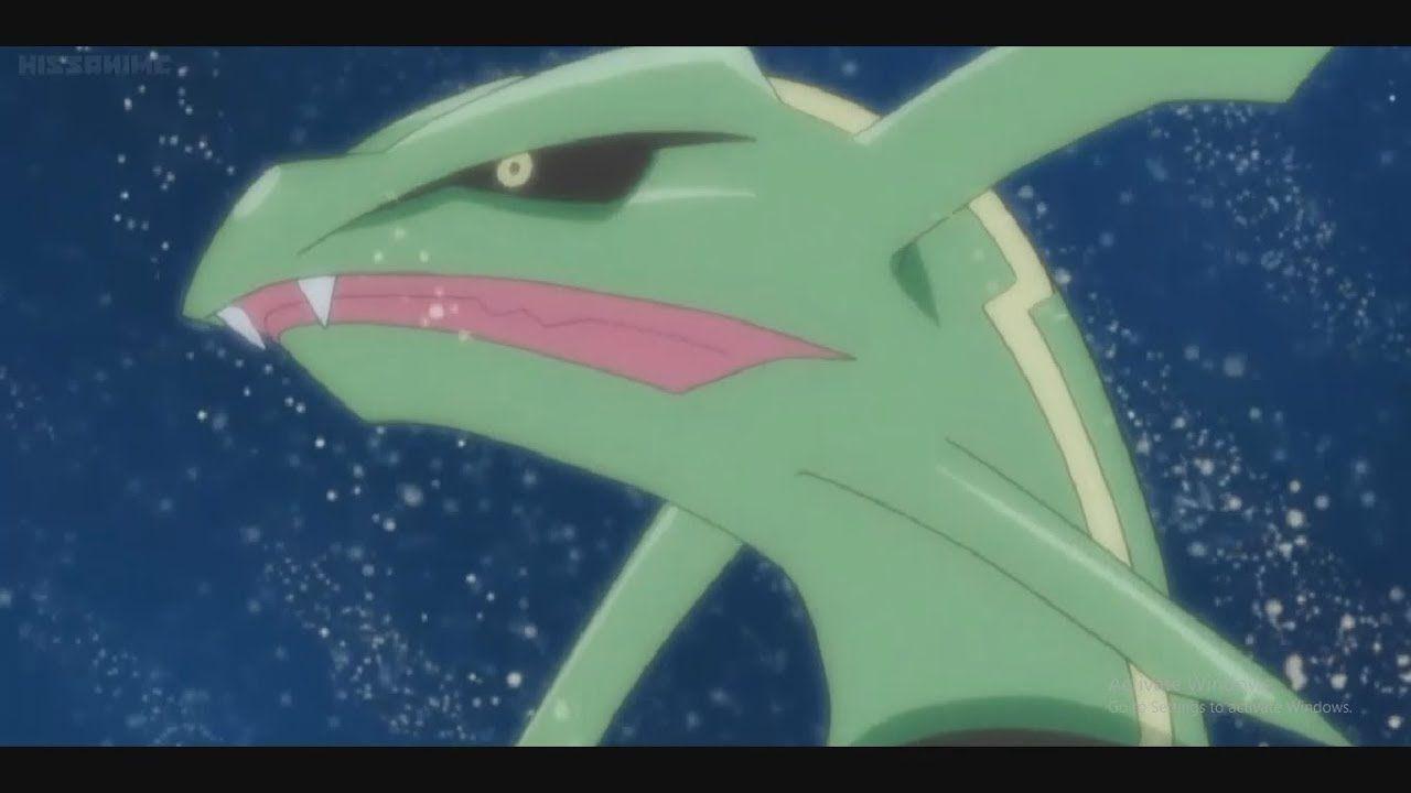 Pokémon: svelate le origini del leggendario Rayquaza